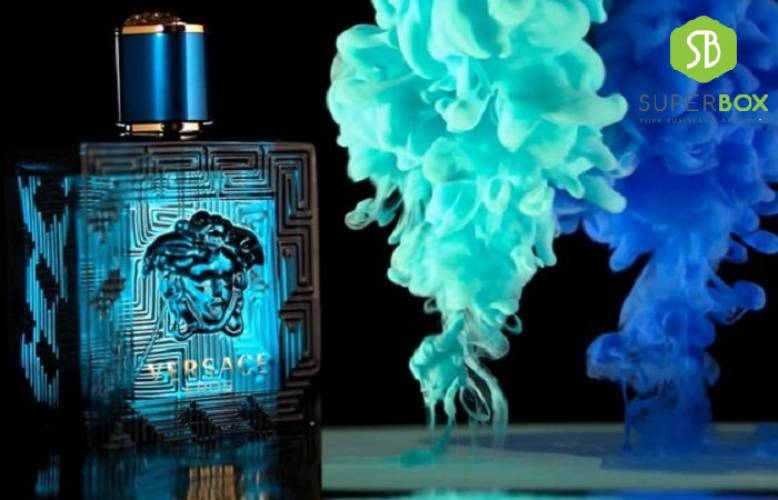 Siêu Phẩm Nước hoa Versace xanh