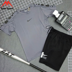Set thể thao nam Nike Drifit Xám