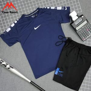 Set thể thao nam Nike Drifit Xanh Đen