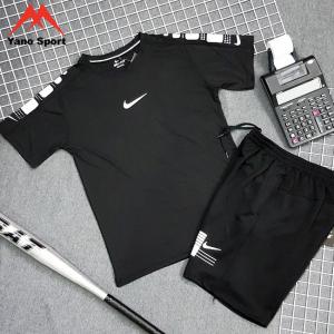 Set thể thao nam Nike Drifit Đen