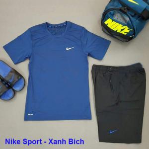 Set thể thao nam Nike Sport Xanh dương