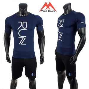 Set thể thao nam Nike Run Man Xanh đen