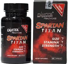 Tăng cường sinh lý nam Damode Spartan Titan- tăng thời gian quan hệ
