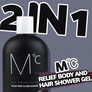 MdoC Relief Body and Hair Shower Gel 2 trong 1 sữa tắm và dầu gội MdoC