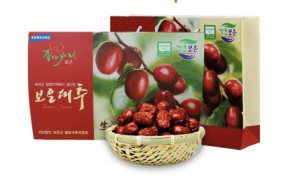 Táo đỏ sấy khô Hàn Quốc Samsung Pharm túi 1kg