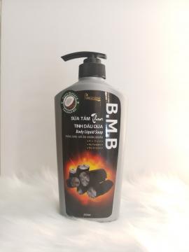 Sữa tắm than tinh dầu dừa B.M.B ( 650 ml )