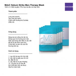 Set kiềm dầu MdoC-MdoC Sebum Strike Set