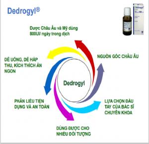 Vitamin D3 Thế Hệ Mới Dedrogyl 10ml