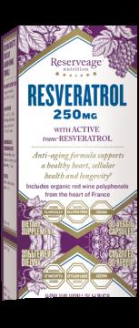 Resveratrol 250mg 30 viên - Viên Uống Hỗ Trợ Sức Khỏe Tim Mạch