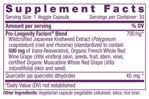 Resveratrol 500mg Sustained Release