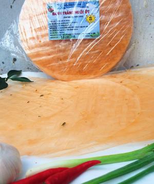 Bánh tráng muối ớt - Đặc sản Tây Ninh